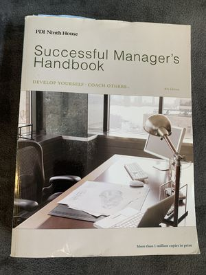 Successful managers handbook for Sale in Costa Mesa, CA