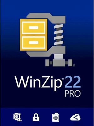 WinZip 22 Pro File Compression and Decompression [PC Disc with Digital Download] (Brand New & Factory Sealed!) for Sale in Phoenixville, PA