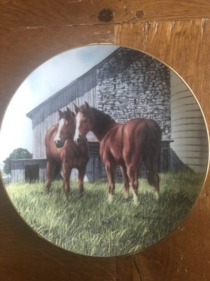 Collectible horse plate for Sale in Vancouver, WA