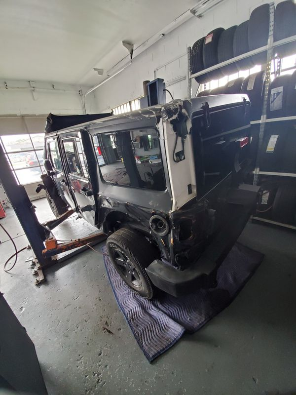 2017 jeep wrangler parting out