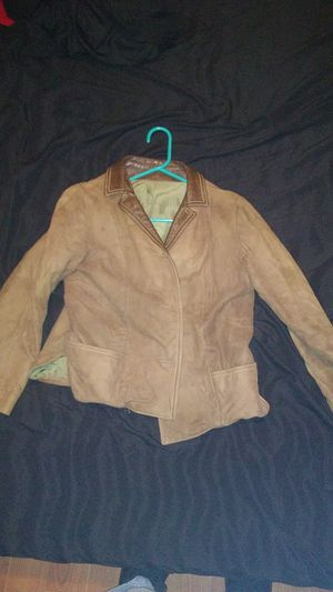 Suede / leather womens jacket for Sale in Orlando, FL