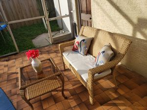 Patio furniture/outdoor furniture/patio set/outdoor set/balcony set/muebles de patio balcon o terraza. for Sale in Miramar, FL