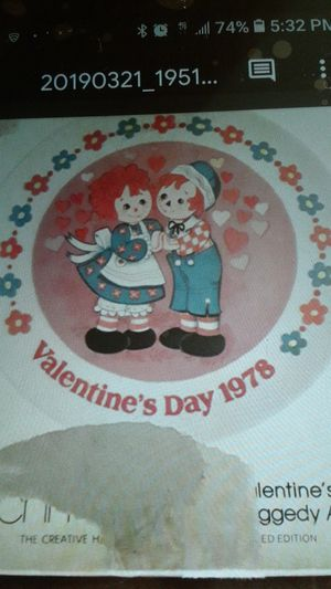 3 Raggedy Ann collectible plates for Sale in Ontario, CA