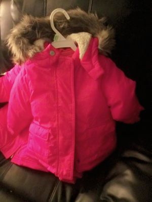 Toddlers pink OldNavy coat with hoodie for Sale in The Bronx, NY
