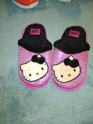 Hello Kitty plush slippers for Sale in Tampa, FL