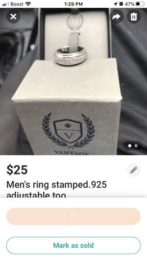 Men's size 9 ring for Sale in Akron, OH