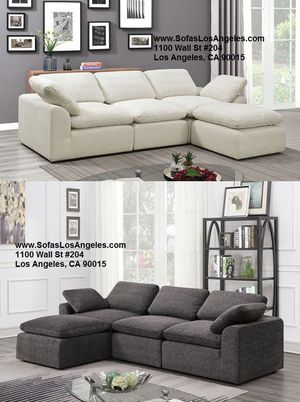 Modern sofa sectional couch/No Credit Needed No Credit Check Apply Today for Sale in Downey, CA