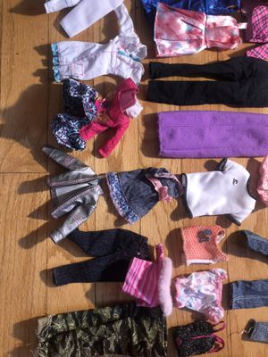 Doll clothes for Sale in Chicago, IL