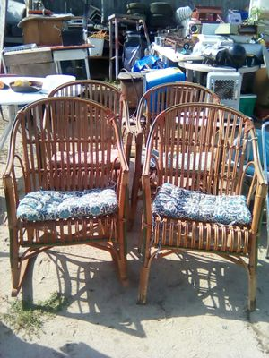 Wicker chairs for Sale in Backus, MN