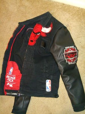 exclusive!!!!! Leather/Jean jacket size medium for Sale in Washington, DC