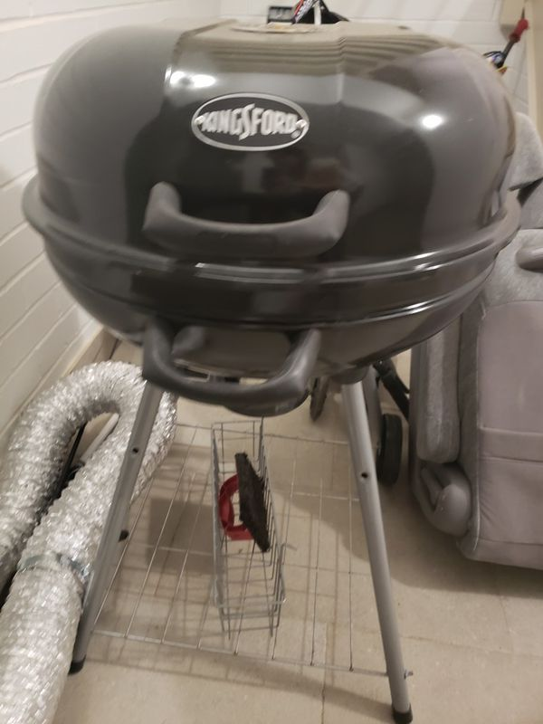 Bbq grill with free charcoal
