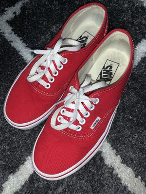 Red Classic Vans for Sale in Oceanside, CA