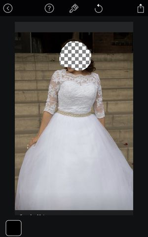 Wedding dress decor home baby dress clothes for Sale in Rialto, CA