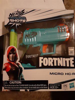 Fortnite Nerf Gun Micro HC-R for Sale in Hendersonville, TN