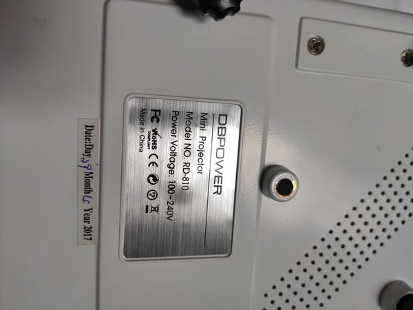 DB Power Projector--works perfectly