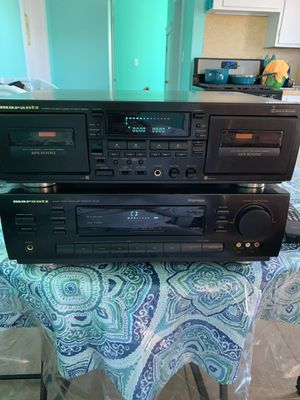 Marantz Receiver and Tape Deck for Sale in Pawtucket, RI