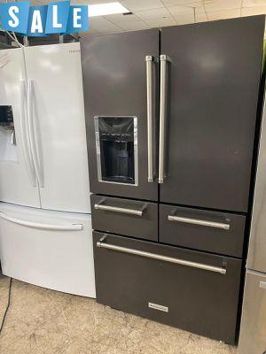 🌟🌟With Warranty Refrigerator Fridge KitchenAid 5 Door #1402🌟🌟 for Sale in Sanford, FL