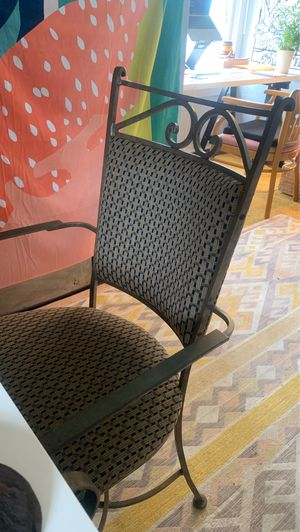 Iron Wroght dining chair / desk chair for Sale in Palm Bay, FL