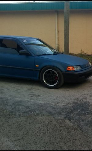 1991 Honda Civic ef hatchback for Sale in Tampa, FL