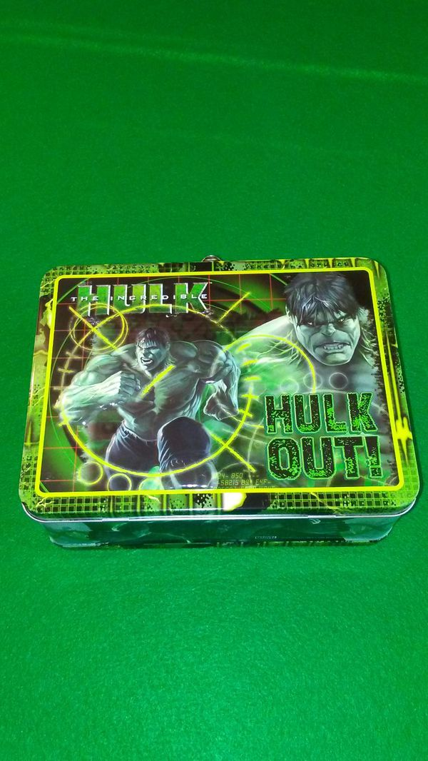 Marvel's Hulk metal lunch box
