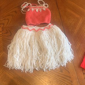 Moana Crochet Outfit for Sale in Houston, TX