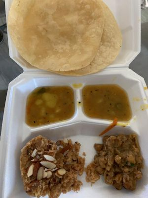 Weekend breakfast halwa puri, all gone for today! for Sale in Corona, CA