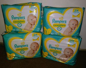 Pampers Swaddlers Bundle for Sale in Wylie, TX