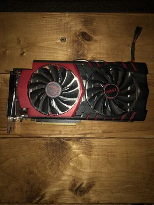 Msi gtx 960 4g Plus misc computer parts for Sale in Fayetteville, AR