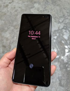 Samsung galaxy s10 plus 5G unlocked 256gb for Sale in Los Angeles, CA