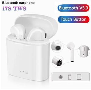 i7s TWS Wireless Bluetooth Earphone quality sound in ear headset cordless Bluetooth headphone Charging Box Mic For iPhone Xiaomi for Sale in Lubbock, TX