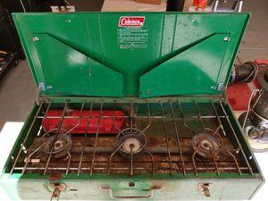 Coleman multi-fuel 3 burner stove for Sale in Yuma, AZ