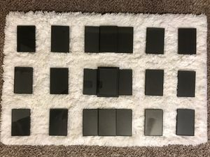 Twenty-two 4x6 black plastic picture frames plus one 5x7 frame! for Sale in Lincoln, NE