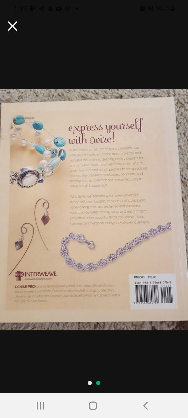 Wire Style unique jewelry designs by Denise Peck NEW