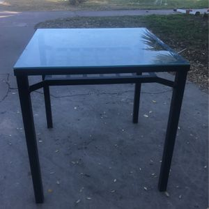 Glass Table for Sale in Linden, CA