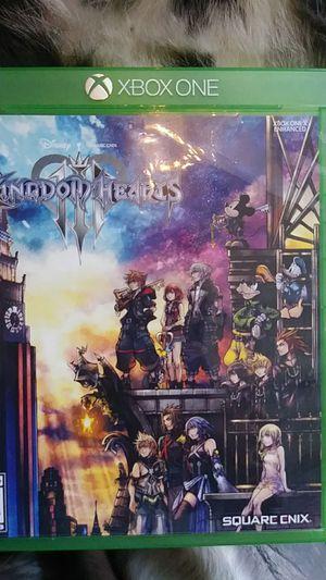 Kingdom of hearts xbox 1 for Sale in Port Orchard, WA