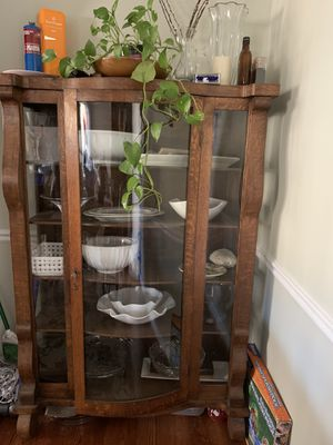 Antique china cabinet for Sale in Silver Spring, MD
