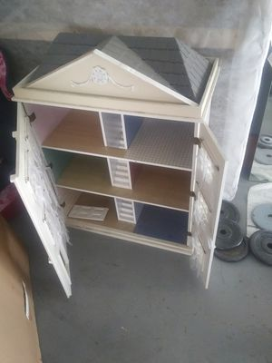 All wood doll house for Sale in Fresno, CA