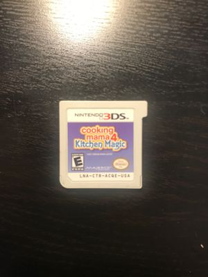 Cooking mama4 Kitchen Magic- Nintendo 3DS for Sale in Queens, NY