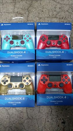 PS4 wireless controller DualShock remote control Sony new aftermarket for Sale in Phoenix,  AZ