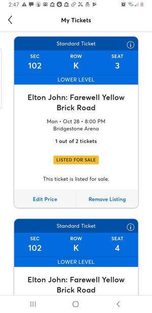 Elton John @ Bridgestone Arena for Sale in Murfreesboro, TN