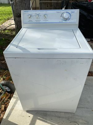 Washer very big big basket good condition for Sale in Pompano Beach, FL