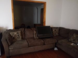 Sectional - Couch (brown) for Sale in IND HILLSIDE, NJ