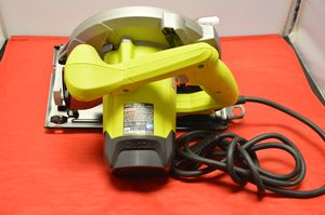 Ryobi CSB125 wired circular saw for Sale in Des Plaines, IL