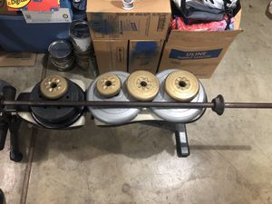 Weights and bar for Sale in Portland, OR