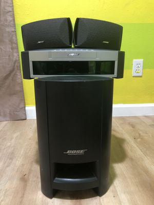 Bose Model AV3-2-1 Media Center (no cables) for Sale in Hayward, CA