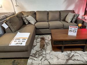 Modern Sectional Sofa, Brown for Sale in Fountain Valley, CA