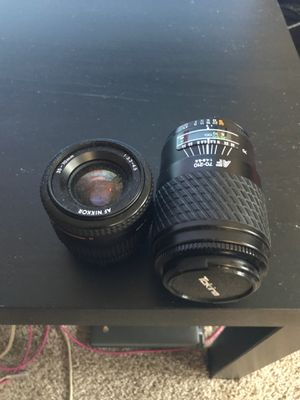 Nikon Tokina Double Lens Pack (BOTH INCLUDED) for Sale in Berwyn Heights, MD