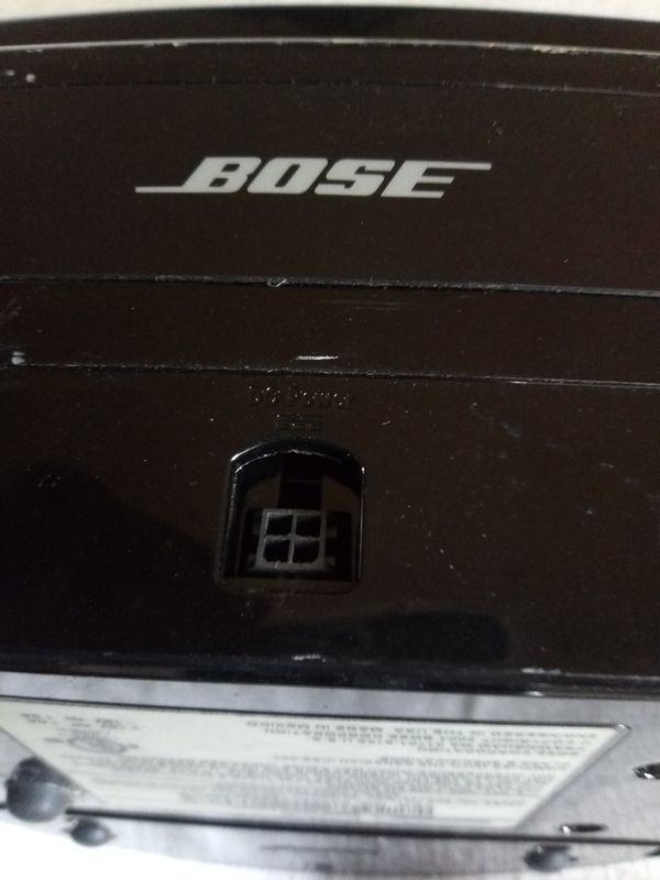 BOSE SPEAKERS SOUNDOCK SYSTEM MUSIC NOT AC POWER SUPPLY