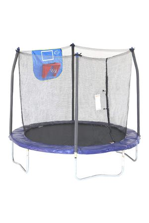 8ft trampoline with basketball hoop for Sale in Teaneck, NJ