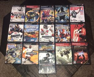 Ps2 PlayStation 2 Games $5 each for Sale in Port St. Lucie, FL